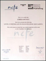 Level 2 - Food Hygiene And Safety